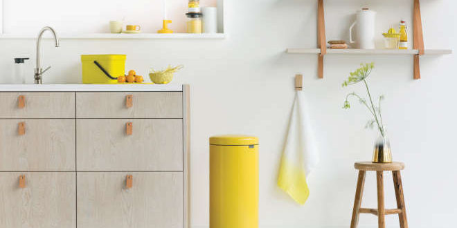 yellow world brabantia
